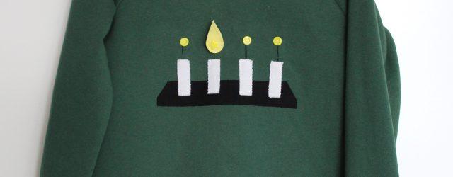 Kerzenpulli auf Buegel Q