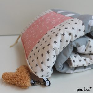 frau hein: Meine erste Patchwork Babydecke