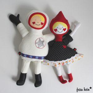 frau hein: Große Astronauten Liebe (Schnittmuster: von Lange Hand)