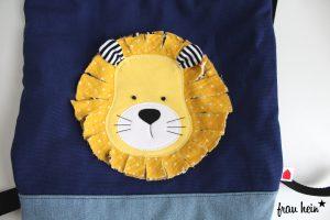 frau hein: Der Tag des Löwen (Appli-Vorlage: von Lange Hand)
