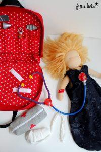 frau hein: Schweizer Arztkoffer Fernweh (Schnittmuster: Lotte&Ludwig)