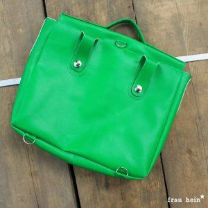 frau hein: Vintage Schoolbag Leonabel (Schnittmuster: LaLilly Herzileien)