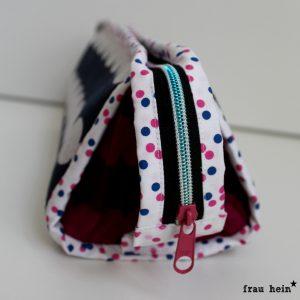 frau hein: Hummelhonig Cozy Dots Sew together bags - Teil 2 blau und beere