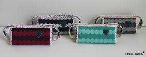 frau hein: Hummelhonig Cozy Dots Sew together bags - Teil 3 - alle 4