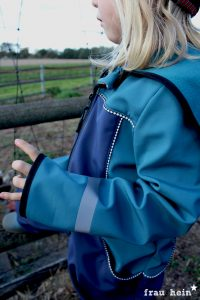 frau hein: Draussenkind Softshell Overall (Schnittmuster: Lotte&Ludwig)