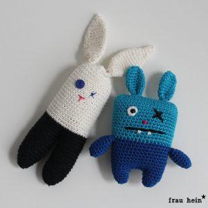 frau hein: Ugly bunny haekeln (mit Link zur kostenlosen Anleitung)